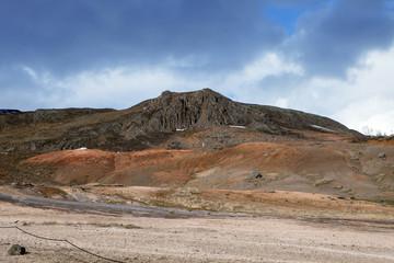 Mountain at Geysir