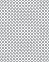 Seamless background with white dots on a gray background