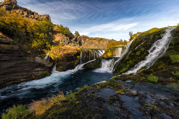 Gjain waterfall Iceland