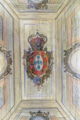 Magnificent ceiling paintings