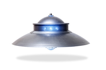 Door stickers UFO Classic ufo saucer