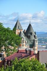 Frontenac Castle, Old Quebec - Château Fontenac, Vieux Québec