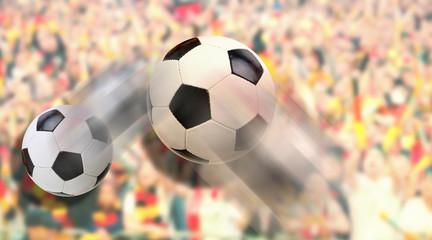 Fussball Freistoß Tor