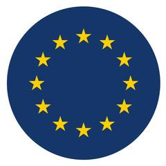 Fototapeta europe circle icon obraz