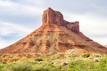 sandstone butte in Utah