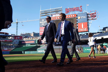 Democrats and Republicans Face Off In The Annual Congressional Baseball Game at Nationals Park