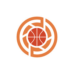 Basketball Sport Photography Logo Symbol