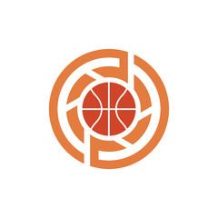 Basketball Sport Photography Logo Symbol