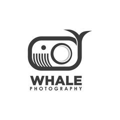 Big Whale Ocean Photography Symbol