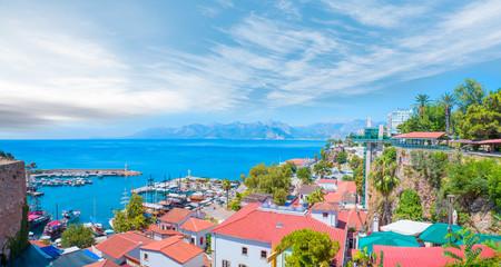Old town (Kaleici) in Antalya, Turkey