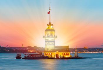 Istanbul Maiden Tower (kiz kulesi)