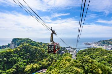 鋸山のロープウェイ Ropeway in Nokogiriyama