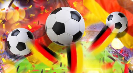 Fussball Tor Tor Sieg Deutschland
