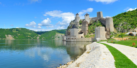 Old medieval fortification Golubac