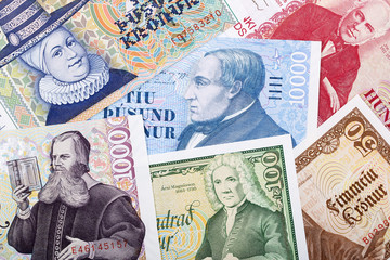 Money from Iceland, a background