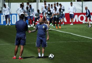 Soccer Football - World Cup - Argentina Training