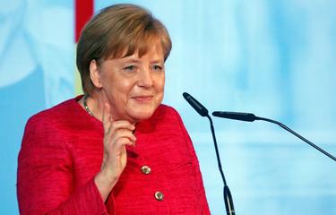 70 Years of Social Market Economy festivities with Chancellor Angela Merkel