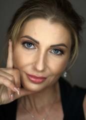 Beauty Porträt Frau, Closeup