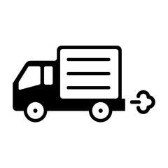 truck icon (delivery,shipping,transport)