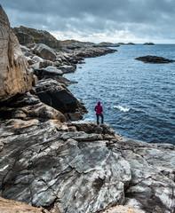 Lofoten cliffs