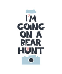 I am going on a bear hunt quote
