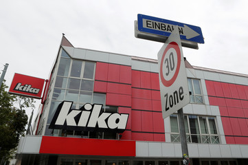 A Kika/Leiner store is seen in Vienna