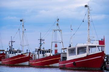 Fischkutter im Hafen von Warnemünde