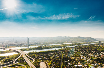 Panorama of the Danube