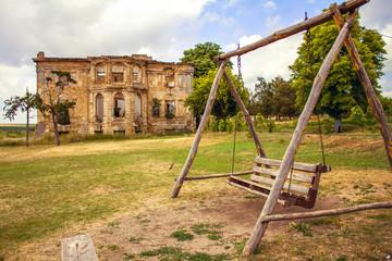 estate and swing in the village of Vasilyevka, Odessa region