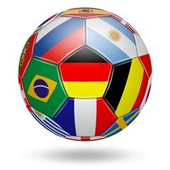 Fußball. 2018. Teilnehmenden Mannschaften