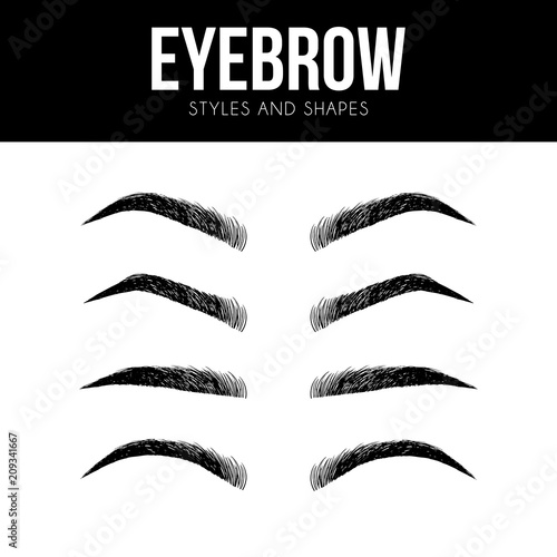 Eye Makeup tutorial - how to apply eyeliner women eye with brow and lashes. eyeshadow apply step by step. makeup concept, vector art image illustration ...