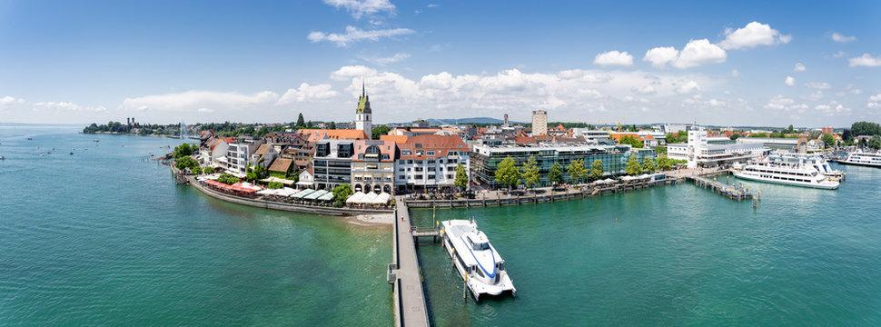 Panorama Friedrichshafen am Bodensee