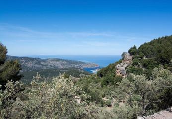 Ocean view to Port de Soller