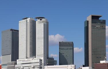 名古屋駅周辺の高層ビル群