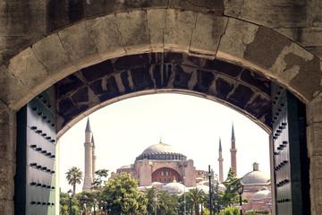 Mosque Aya Sofia in Istanbul, Turkey