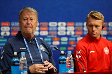 World Cup - Denmark Press Conference