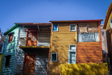 Colorful Caminito Street in La Boca neighborhood - Buenos Aires, Argentina