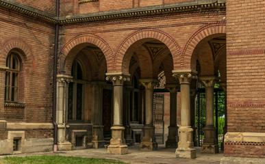 Ancient University and Orthodox Church in the city of Chernivtsi, Ukraine
