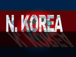 North Korean Economy And Crisis 3d Illustration