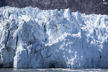 Alaska's Glacier Close View