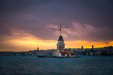 Maiden Tower of Istanbul