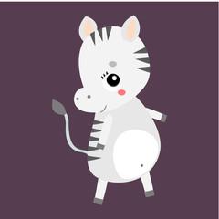 zebr vector icon
