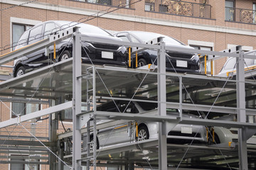 立体 機械式駐車場