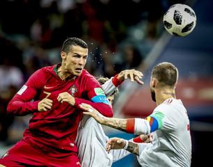 Soccer: World Cup-Spain vs Portugal
