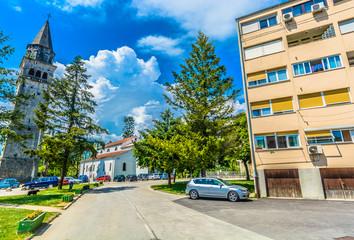 Pazin Croatia colorful scenery. / Scenic view at colorful scenery in Istria region, Pazin town.