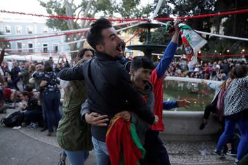 Soccer Football - Portugal's fans