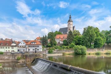 die alte Stadtkirche in Penig (Sachsen)