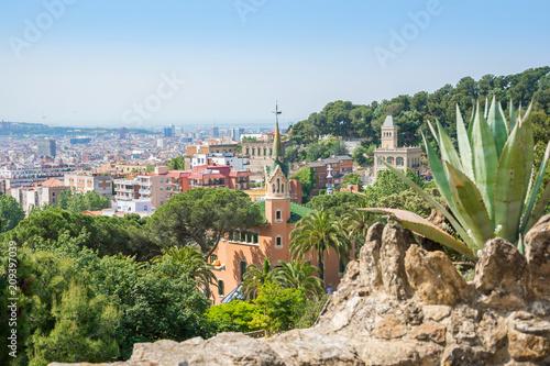 e5a06f32ed View of a Gaudi s House-Museum in the Park Guell. Barcelona