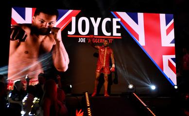 Joe Joyce v Ivica Bacurin - Commonwealth Heavyweight Title