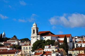 Lissabon mit Stephanskirche